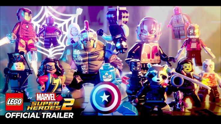 Here's the time-twisting first trailer for Lego Marvel Super Heroes 2. Looks like temporal super villain Kang is doing something that'll let us play with characters from throughout Marvel Comics' entire timeline. Doesn't seem like such a bad guy, that Kang.