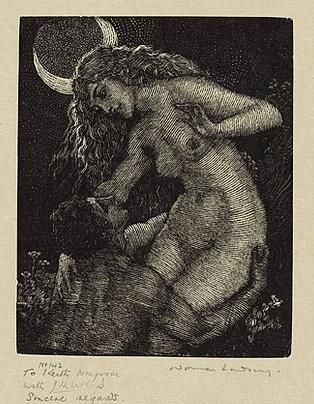 Thief of the Moon by Norman Lindsay (source)