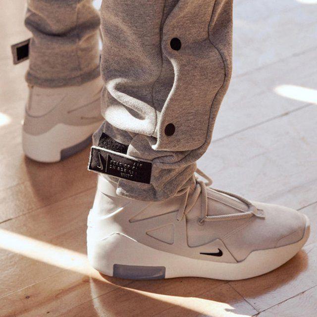 Nike Air Fear of God 1 Light Bone #nike