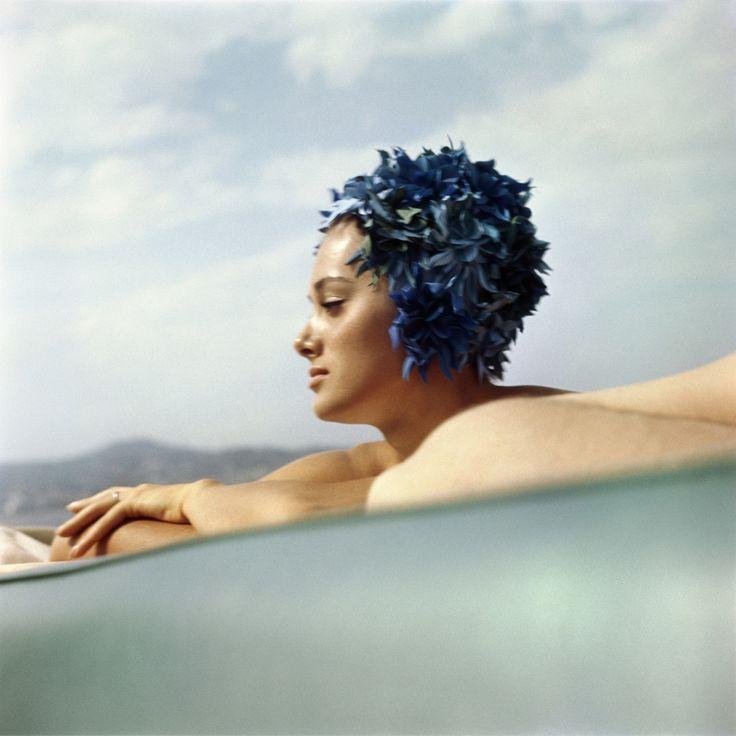 Sylvana Empain. Juan-les-Pins, Francia, agosto 1961. - (J. H. Lartigue, Ministero della cultura francese/ Aajhl)