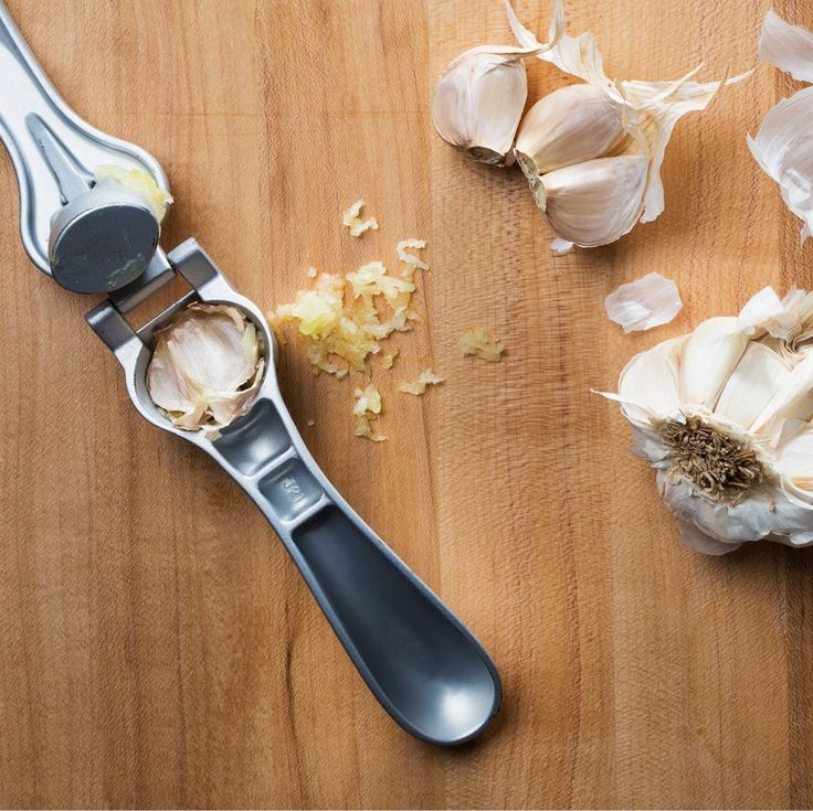 Leave the Peel on When You Use a Garlic Press  https://www.pamperedchef.com/pws/chariceskitchen