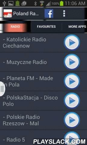 Poland Radio News  Android App - playslack.com , Do you love Poland music? Now you can listen to best Poland radio stations from this app. You can also create your own custom favourite stations. Not only that, you can also read Poland Newspapers while you enjoy music.