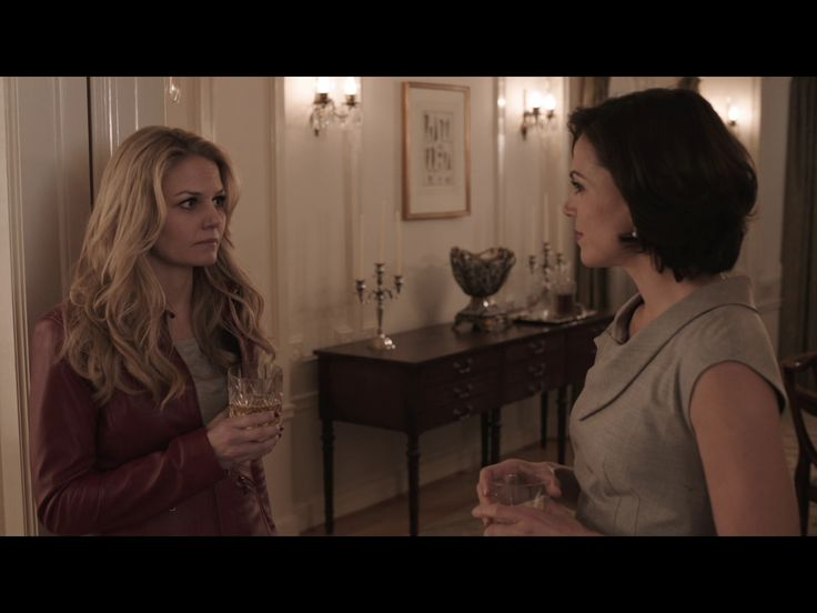 1x1 (emma and regina drinking in regina's house and talking about stuff)