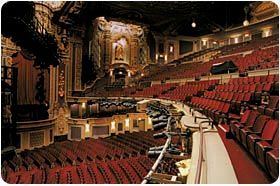Oriental Theatre - Ford Center for the Performing Arts - Broadway in Chicago!!!