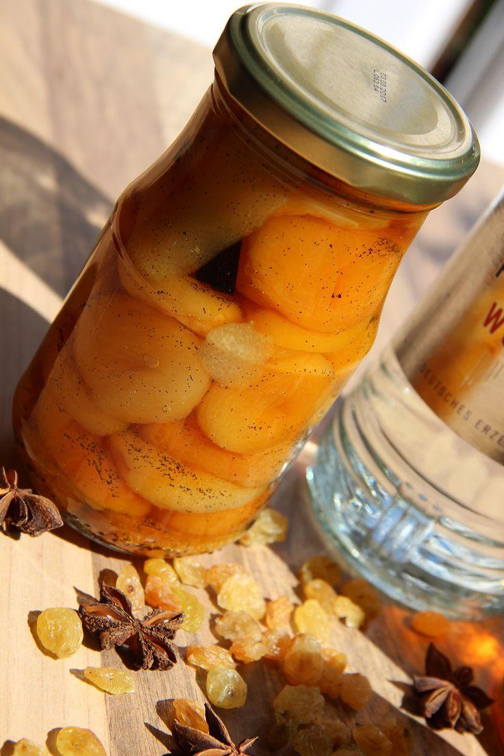 Recept boerenmeisjes (abrikozen in brandewijn)