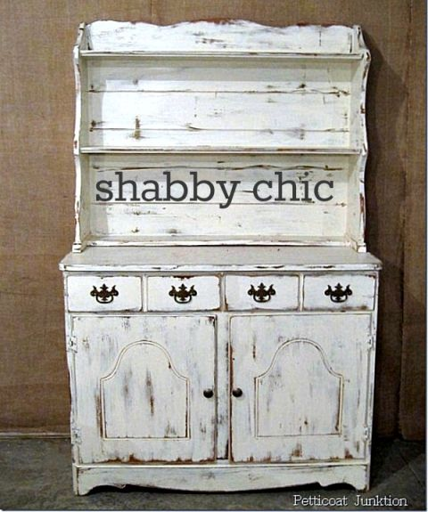 Shabby chic white hutch Petticoat Junktion - Top 25+ Best White Hutch Ideas On Pinterest Hutch Makeover