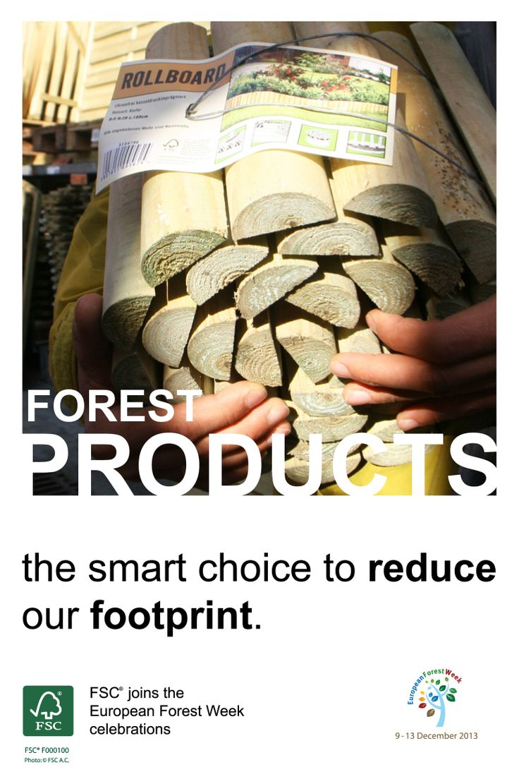 #FSC joins the #EFW2013 celebrations!  #Forest products: the smart choice to reduce our footprint. #FSC standards provide strong safeguards for sustaining the yield of forest products, conserving biological diversity and soils, and maintaining the #ecological functions of forests. Keep tuned and we will show you how your contribution can make a difference!