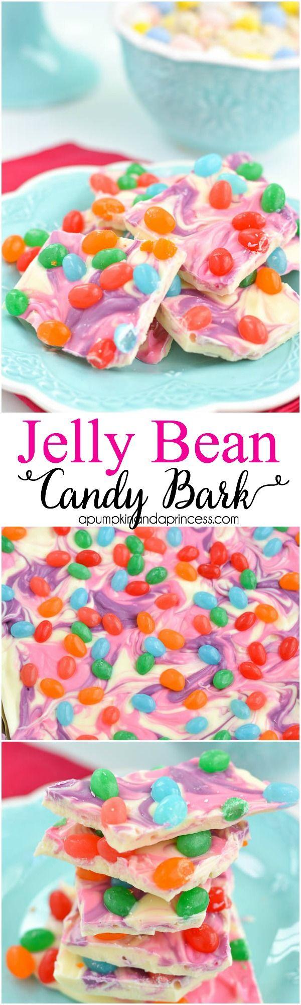 Marbled Jelly Bean Bark