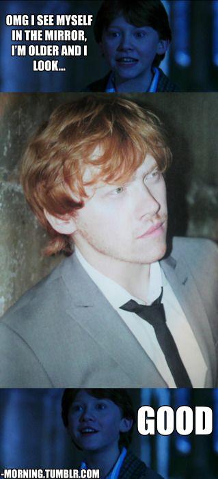 Yes Ron, you look damn good.