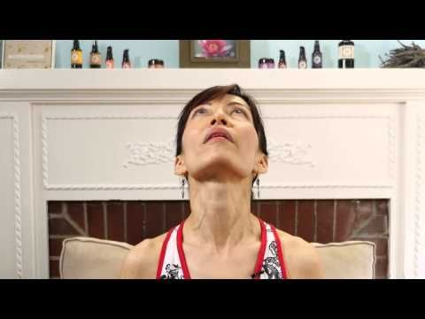 Face Yoga - The Double Chin Lift Organic Skin Care Products | Annmarie Gianni Skin Care