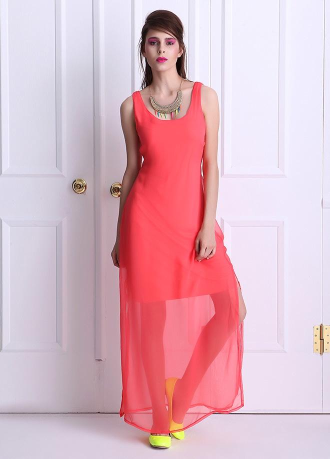 Playmax Uzun şifon elbise Markafonide 69,90 TL yerine 29,99 TL! Satın almak için: http://www.markafoni.com/product/3712563/