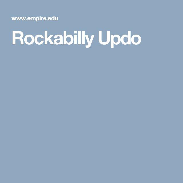 Rockabilly Updo