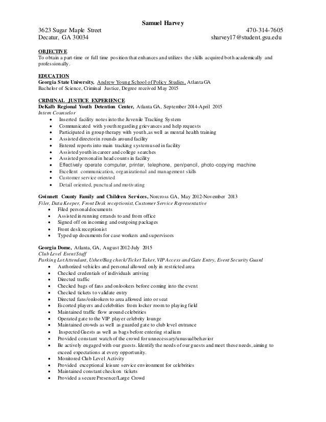 Objective For Criminal Justice Resume Objectiveforcriminaljusticeresume Check More At Http Offic Criminal Justice Resume Objective Examples Resume Examples