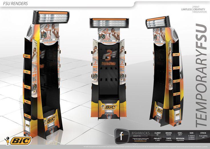 Bic Razors Temp FSU on Behance