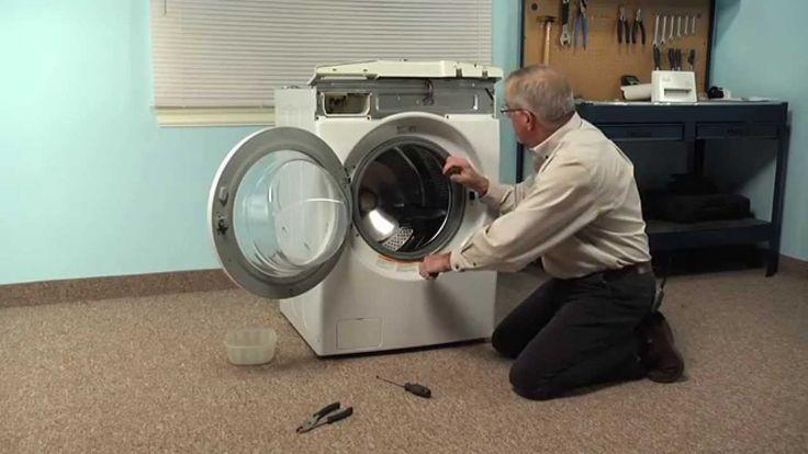Lg Dryer Repair >> Washing Machine Repair - Replacing the Drain Pump (LG Part ...