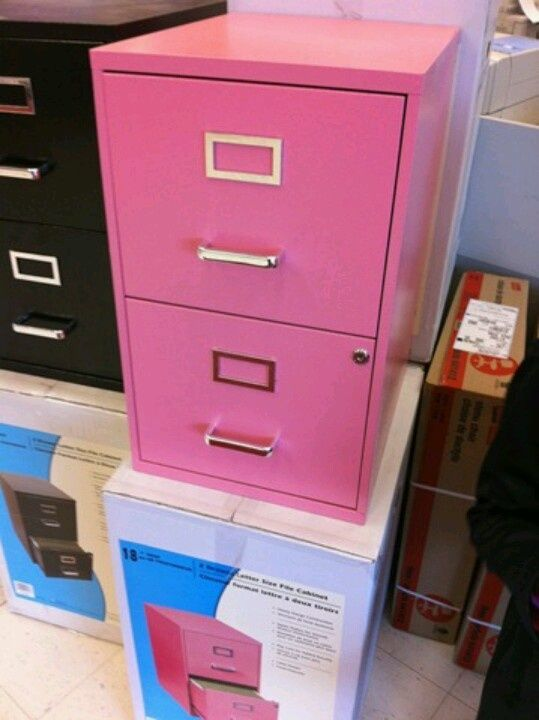 Attrayant Pink File Cabinet