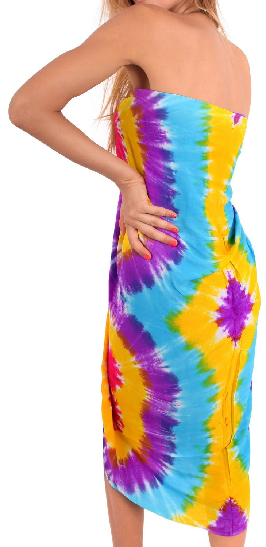 Sarong Bathing Suit Pareo Wrap Bikini Cover ups Womens Skirt Swimsuit Swimwear #…