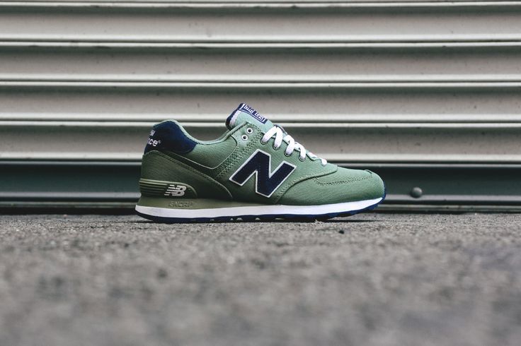 new balance ml574 pique polo dark green