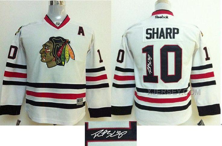 http://www.xjersey.com/blackhawks-10-sharp-white-signature-edition-youth-jerseys.html BLACKHAWKS 10 SHARP WHITE SIGNATURE EDITION YOUTH JERSEYS Only $50.00 , Free Shipping!
