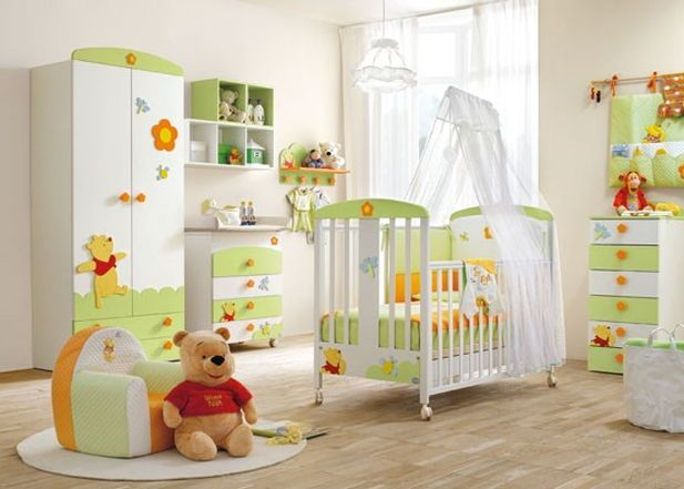 Amenajarea si decorarea camerei copilului: camera bebelusului - Sporul Casei