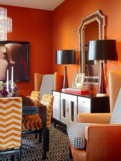 Best 25+ Orange rooms ideas on Pinterest