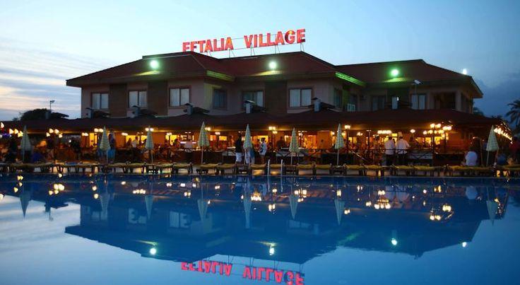 Отель Eftalia Village HV1, Аланья, #Турция  #отель Eftalia Village HV1 расположен прямо на берегу моря, до центра города Алания — менее 20 км.  В отеле Eftalia Village HV1 есть открытый бассейн, спа-салон. В отеле: 425 номеров. Номера с кондиционером, телевизором со спутниковыми каналами и балконом, ванной комнатой с туалетно-косметическими принадлежностями и феном, а также мини-баром.  Для гостей сервируют завтрак «шведский стол».