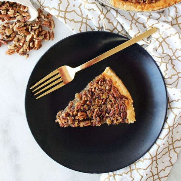 Celeste Wright S 4 Step Pecan Pie By Glitter And Bubbles Recipe Pecan Pie Dessert Recipes Cooking Recipes