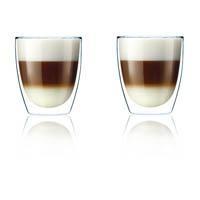 Philips Cappuccino-Glas 2-er Set (HD7017/00)