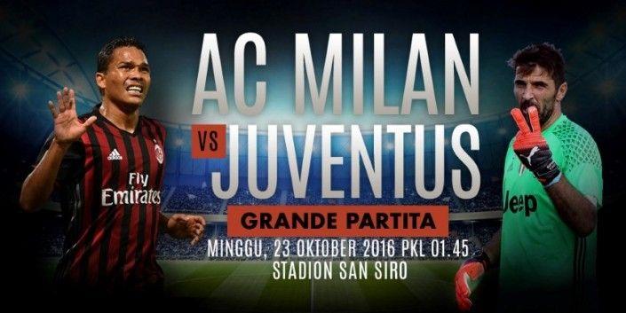 Prediksi AC Milan vs Juventus Liga Italia