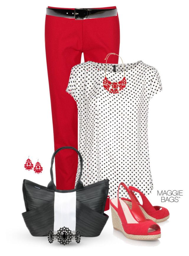 Marché Noir, Maisons Blanches, Prada, Mangue, Rouge, Carvela, White House Black, Polka Dot, Red