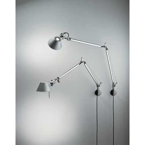 Tolomeo Micro 1 Light Swing Arm Lamp With J Bracket Swing Arm Wall Lamps Led Wall Lamp Wall Lights