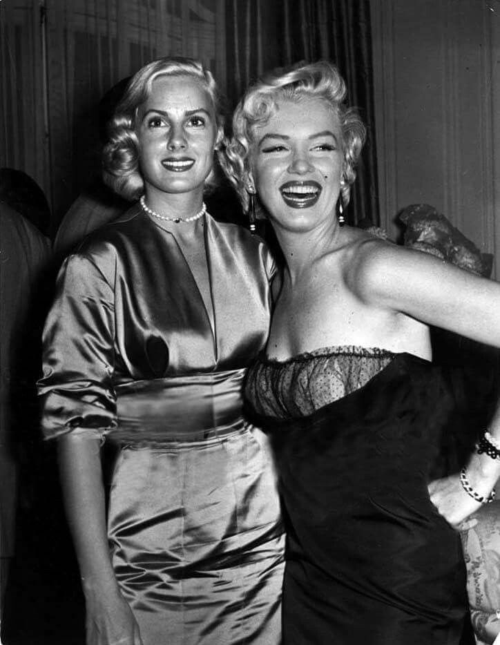 Marilyn at a press conference for The Seven Year Itch at the St. Regis Hotel in New York, September 8, 1954.