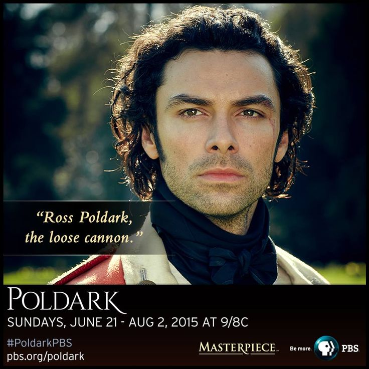 Action, adventure, romance. Aidan Turner stars as the gallant Captain Ross Poldark in the new adaptation of the 1970s @masterpiecepbs hit series. Learn more. #PoldarkPBS