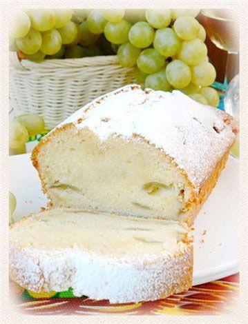 Кекс с виноградом на белом вине : Простые рецепты для вкусной жизни