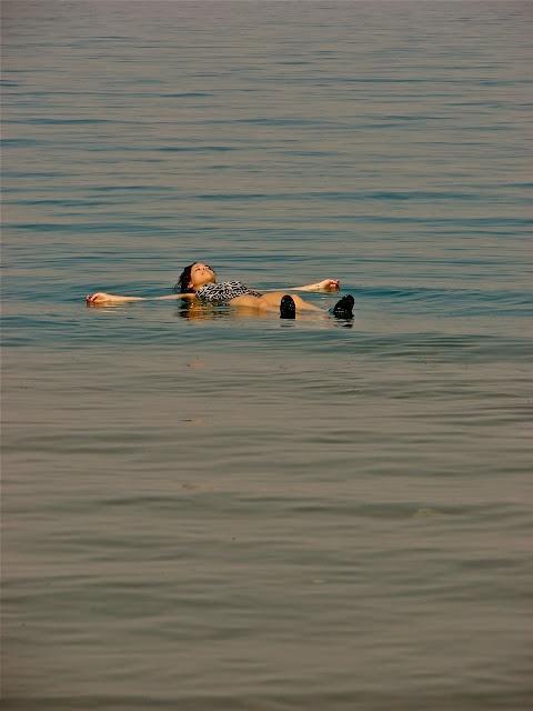 float in the dead sea!
