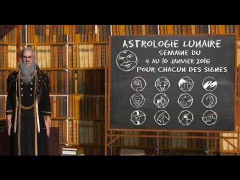 Astrologie Lunaire ☽ Semaine du 04 au 10 janvier 2016