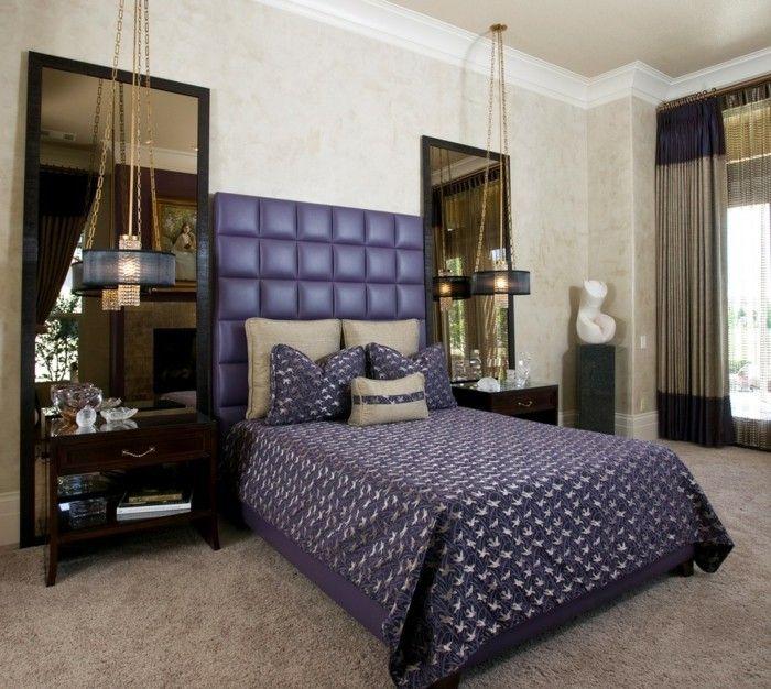 beautiful magisches lila schlafzimmer design gallery - purebalance