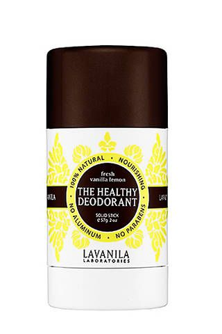 Ladies looking for an all-natural deodorant that smells floral and feminine (not at all earthy like so many other natural versions do), look no further than this solid stick formula. I have both the vanilla and lavender vanilla and switch back and forth depending on my mood. It's fresh, moisturizing, rich in antioxidants, and beta glucan technology strengthens the skin while nourishing. While using this, no BO ever broke through. If you are a woman who prefers a drugstore solid deodorant…