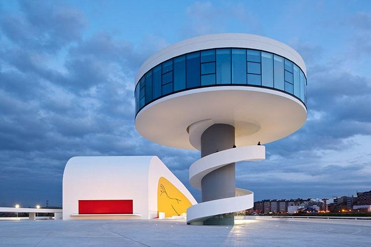Niemeyer Center by Oscar Niemeyer Closing.  This looks like a fun slide.