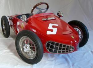 juillet – 2006 – L'univers des voitures à pédales et à moteur pour enfants