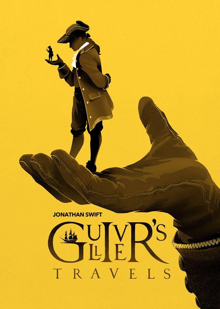 Unique Book Cover Art : Best ideas about gulliver s travels on pinterest