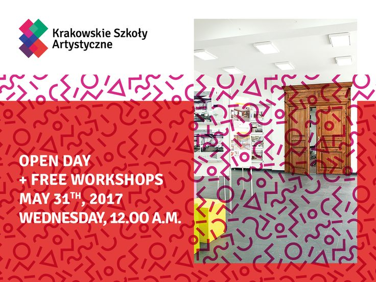 OPEN DAY at our School! :) Check our free workshops: bit.ly/DzieńOtwartyKSA