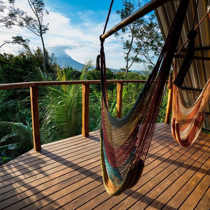 Luxury Suite with Volcano View – Jungle House. Photo Credit: Airbnb.com. #travel #wanderlust #MustStayHere #airbnb #volcano #Balgüe #Rivas #Nicaragua