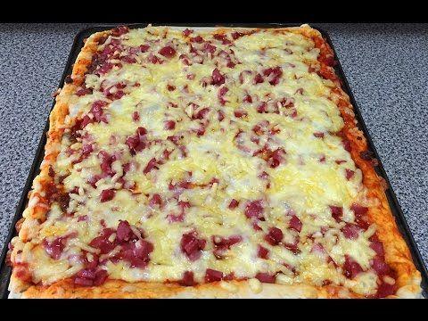 Como Hacer masa para pizza casera / italiana - YouTube