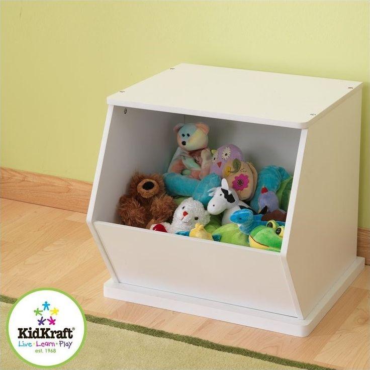 Lowest price online on all KidKraft Single Storage Unit in White - 14177
