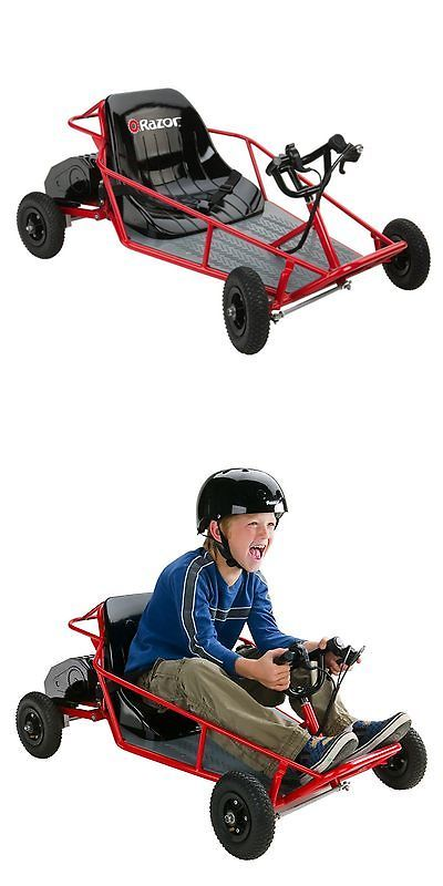 1970-Now 11746: Razor Dune Buggy Electric Battery Powered Go Kart, Red, One Size -> BUY IT NOW ONLY: $310.62 on eBay!