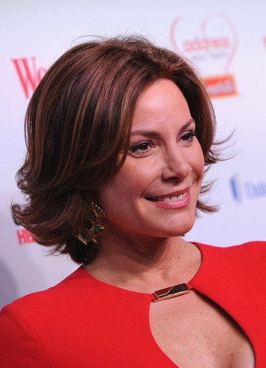 LuAnn De Lesseps at the 2013 Woman's Day Red Dress Awards