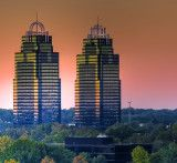 King and Queen buildings in Atlanta. you have got to see them, i see these everyday
