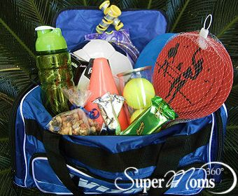 Fit & Fun Easter Basket - Keep the kids active with this sporty and healthy Fit & Fun Easter 'basket.'