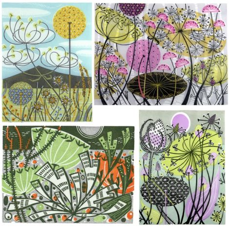 Angie Lewin's work is simply stunning